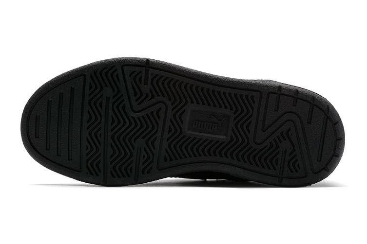 Puma Boys' Caracal V Pre-School Shoe (Puma Black-Puma Black-Dark Shadow, Size 1.5C US)