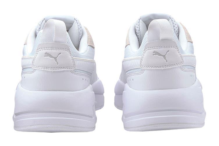 Puma Men's X-Ray Shoe (Puma White-Gray Violet, Size 12 US)