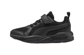 Puma Boys' X-Ray AC Pre-School Shoe (Puma Black-Dark Shadow)