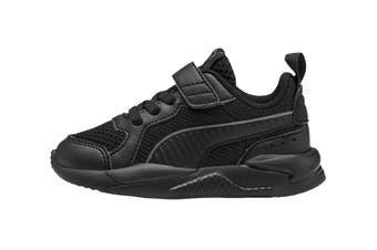Puma Boys' X-Ray AC Infant Shoe (Puma Black-Dark Shadow)