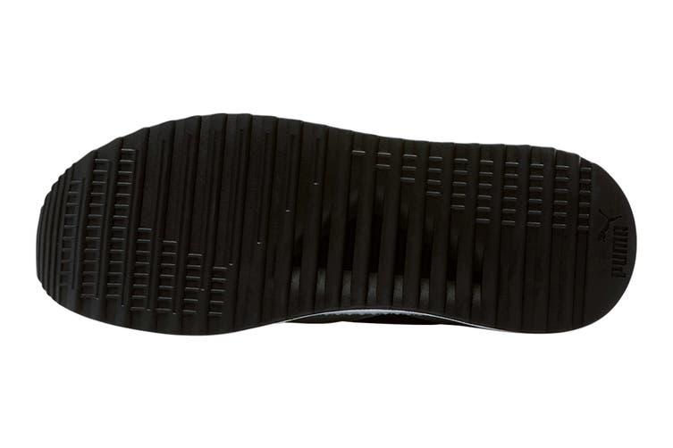 Puma Men's Pacer Next FFWD Shoe (Puma White-Puma Black-High Rise-High Risk Red, Size 8.5)