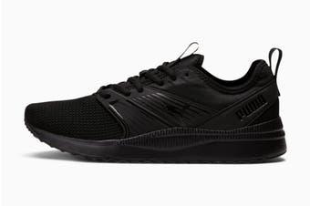 Puma Men's Pacer Next FFWD Shoe (Puma Black-Puma Black-Puma Black-CASTLEROCK, Size 11)