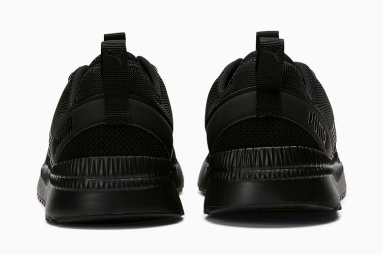 Puma Men's Pacer Next FFWD Shoe (Puma Black-Puma Black-Puma Black-CASTLEROCK, Size 12)