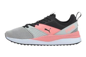 Puma Girls' Pacer Next FFWD Junior Shoe (Puma Black-Salmon Rose-Gray Violet, Size 5C US)