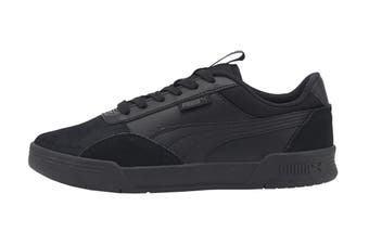 Puma Boys' C-Skate Junior Shoe (Puma Black-Puma Black)