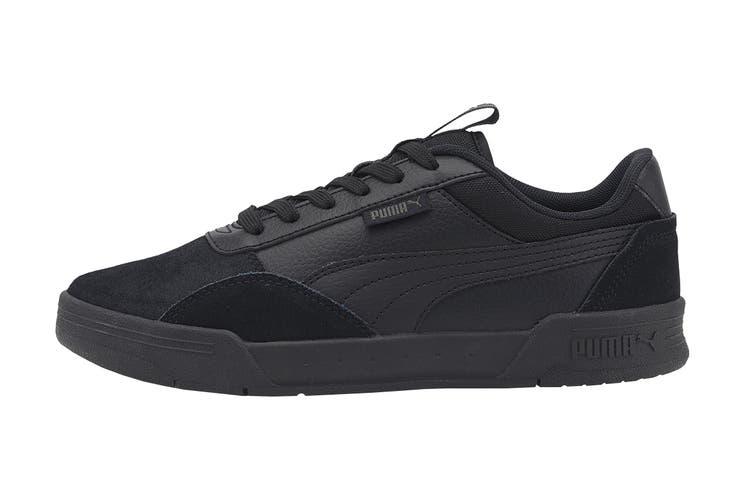Puma Boys' C-Skate Junior Shoe (Puma Black-Puma Black, Size 4C US)