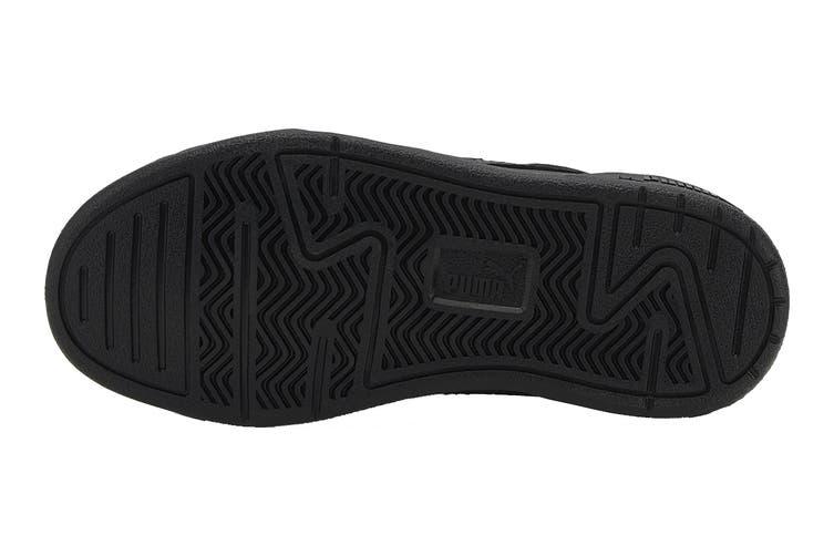 Puma Boys' C-Skate Pre-School Shoe (Puma Black-Puma Black, Size 12C US)
