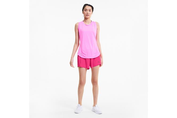 "Puma Women's Ignite 5"" Short (Luminous Pink, Size S)"