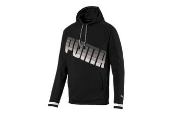 Puma Men's Collective Hoodie (Puma Black, Size L)