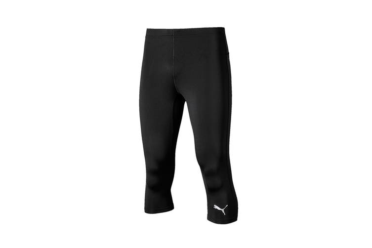 Puma Men's Ignite 3/4 Tight (Puma Black, Size S)