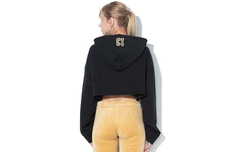 Puma Women's Fenty Cropped Hoody (Black, Size XS)