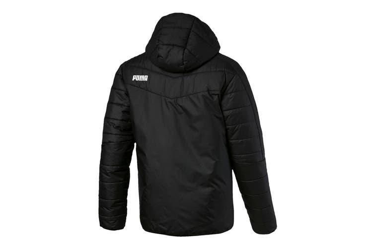 Puma Men's WarmCELL Padded Jacket (Puma Black, Size XXL)