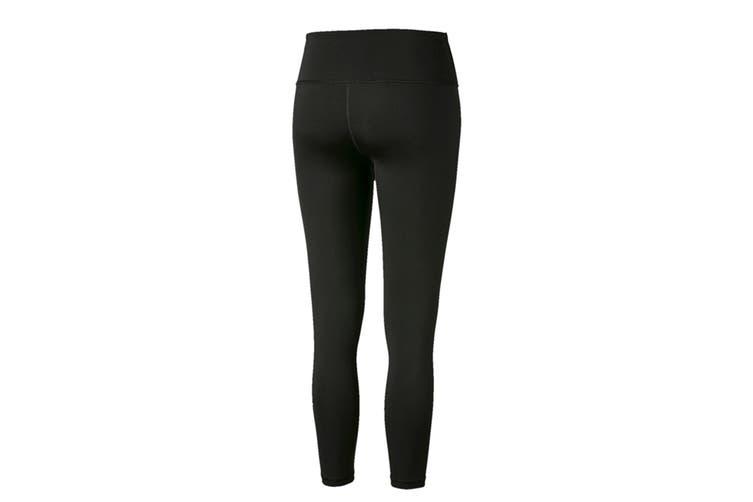 Puma Women's EVOSTRIPE Leggings (Puma Black, Size M)