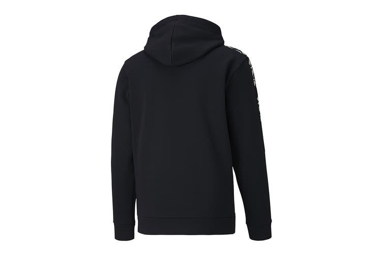 Puma Men's Amplified Hoody FL (Puma Black, Size XL)