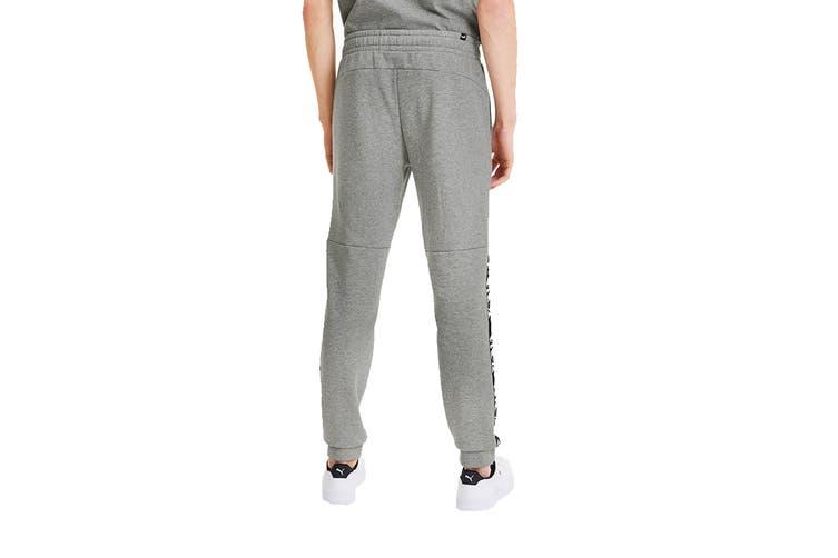 Puma Men's AMPLIFIED Pants (Medium Gray Heather, Size L)