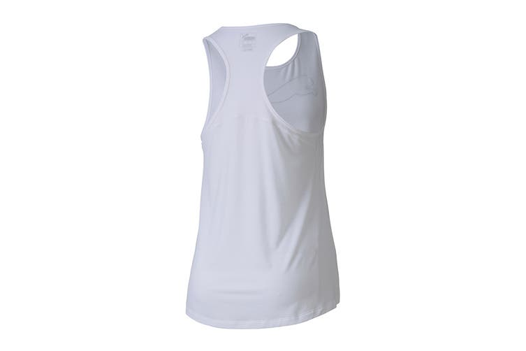 Puma Women's RTG Layer Tank (Puma White, Size XL)