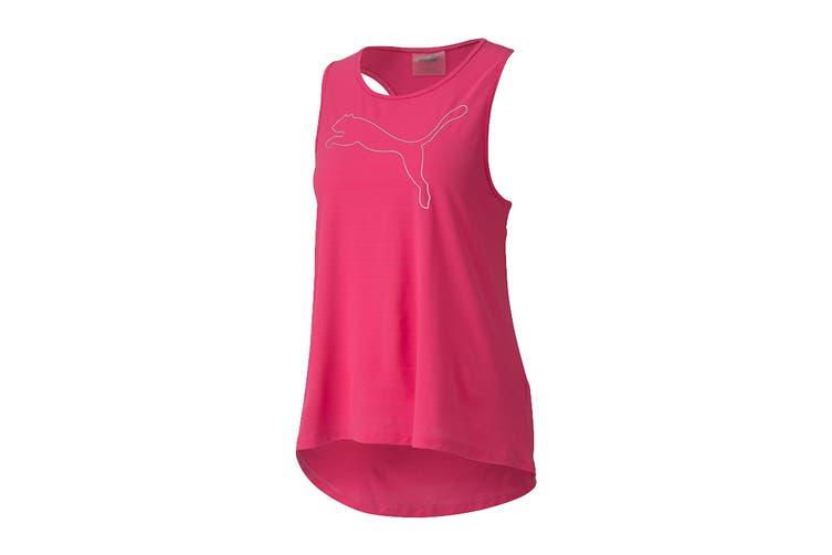 Puma Women's RTG Layer Tank (Glowing Pink, Size S)