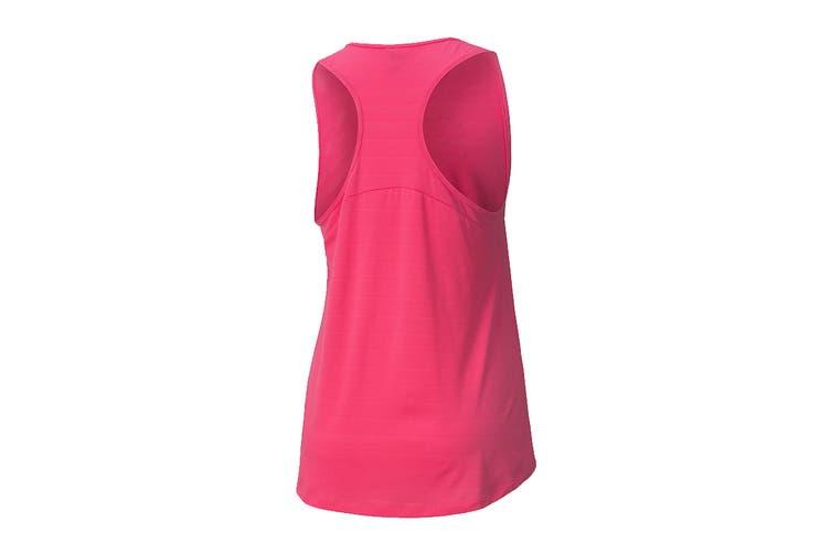 Puma Women's RTG Layer Tank (Glowing Pink, Size XL)