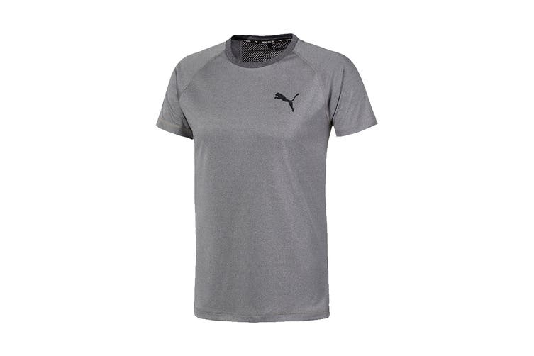 Puma Men's RTG Tee (Medium Gray Heather, Size L)