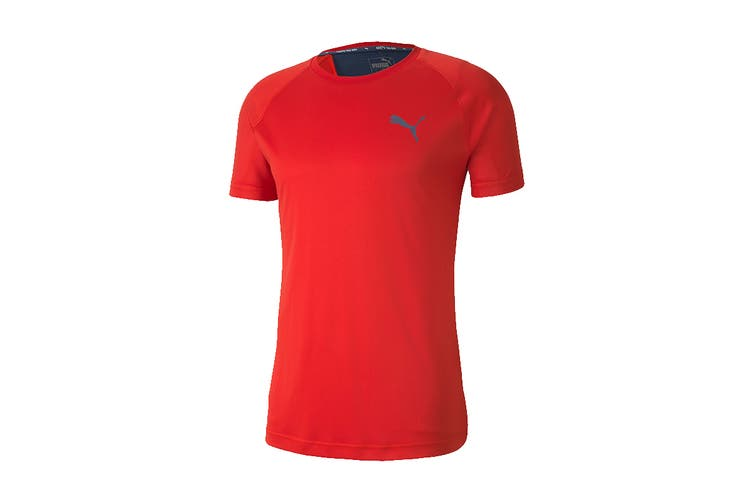 Puma Men's RTG Tee (High Risk Red, Size L)