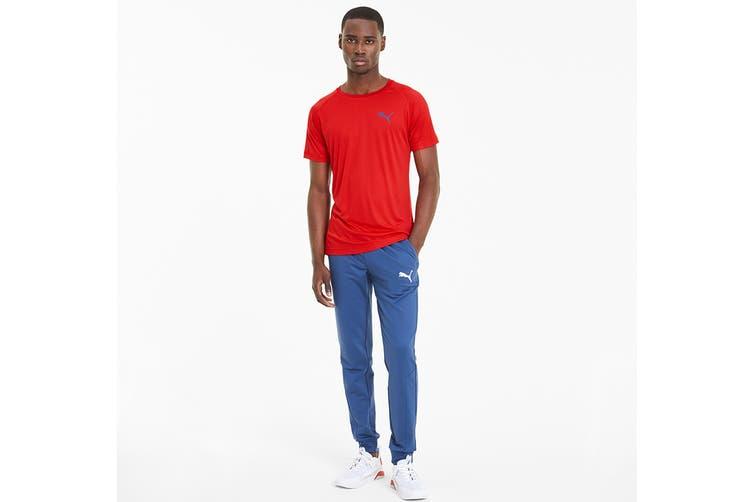 Puma Men's RTG Tee (High Risk Red, Size M)