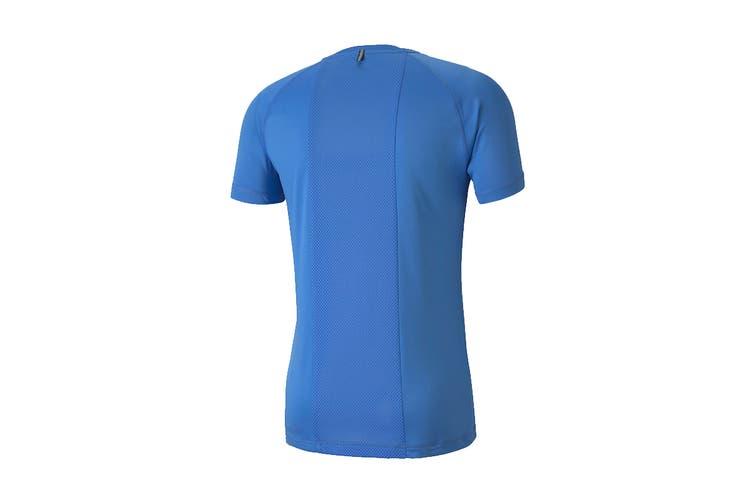 Puma Men's RTG Tee (Palace Blue, Size L)