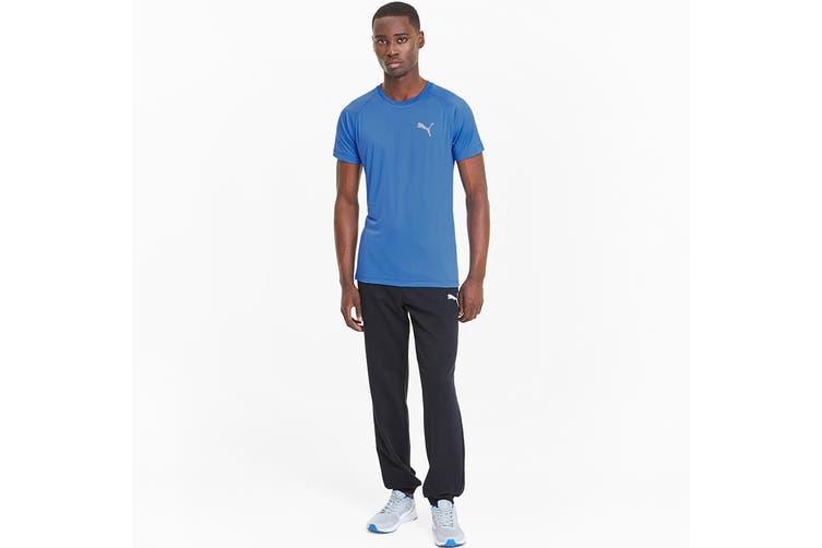 Puma Men's RTG Tee (Palace Blue, Size M)