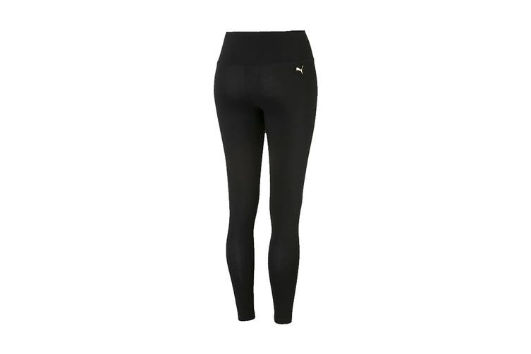 Puma Women's Holiday Pack Leggings (Cotton Black, Size L)