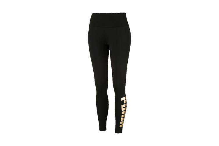 Puma Women's Holiday Pack Leggings (Cotton Black, Size S)
