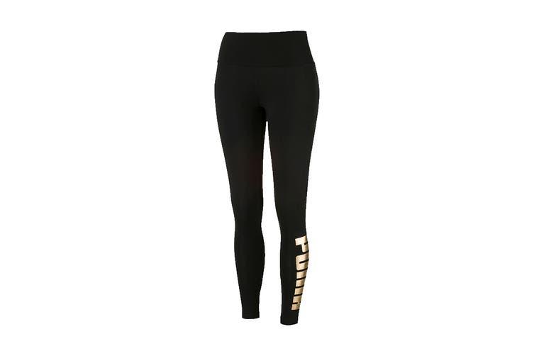 Puma Women's Holiday Pack Leggings (Cotton Black, Size XS)