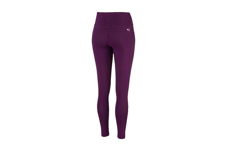 Puma Women's Holiday Pack Leggings (Plum Purple, Size XS)