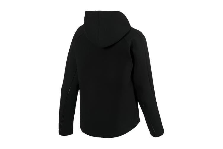 Puma Women's Evostripe Move Hooded Jacket (Cotton Black, Size M)