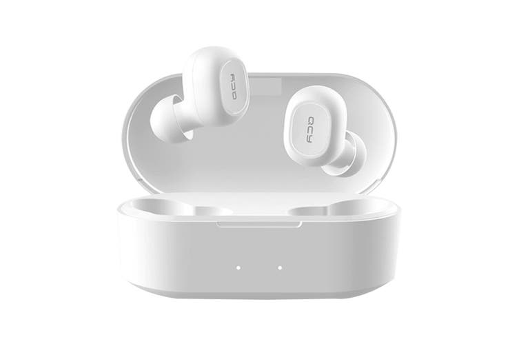 QCY T2S True Wireless Noise Cancelling Earbuds (White)