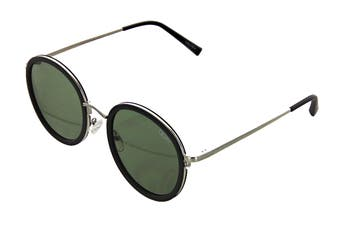 Quay FIREFLY Sunglasses (Black, Size 52-20-145) - Green