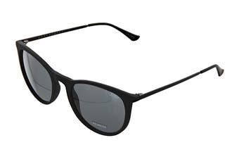 Quay GREAT Sunglasses (Matte Black, Size 45-20-146) - Smoke