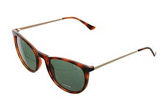 Quay GREAT Sunglasses (Tortoise, Size 45-20-146) - Green