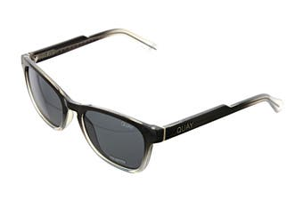 Quay HARDWIRE Sunglasses (Black Grey, Size 45-21-142) - Smoke