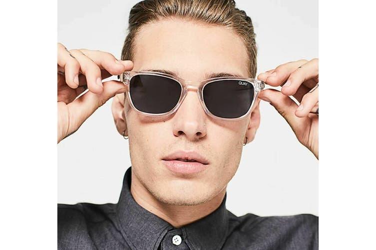 Quay HARDWIRE Sunglasses (Black Grey, Size 45-21-142) - Smoke