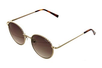 Quay I See You Sunglasses (Gold Rope, Size 50-25-136) - Brown