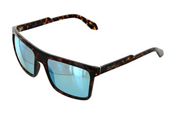 Quay LET It Run Sunglasses (Tortoise, Size 51-19-145) - Blue