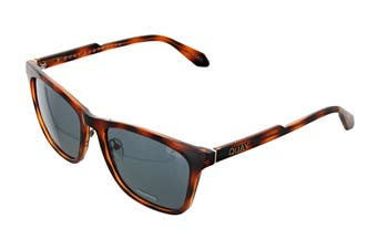 Quay RECKLESS Sunglasses (Orange Tortoise, Size 45-20-151) - Navy