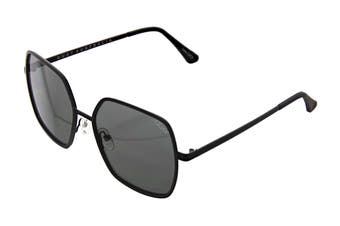 Quay UNDERCOVER Sunglasses (Black, Size 57-16-145) - Smoke
