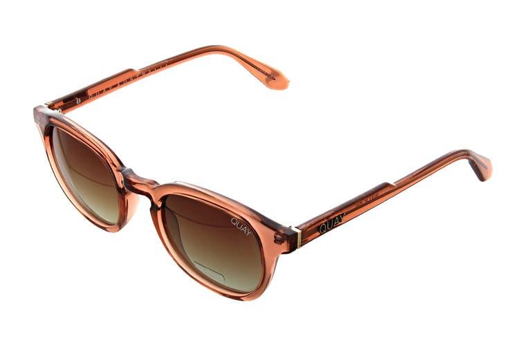Quay WALK On Sunglasses (Coffee, Size 47-20-147) - Brown Fade