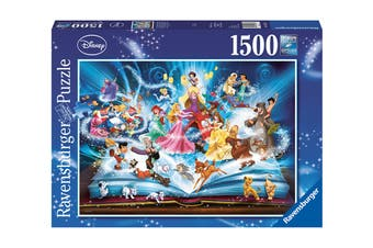 Ravensburger Disney 1500 Piece Magical Storybook Puzzle