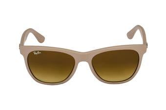Ray Ban 0RB4184 Sunglasses(Matt Beige) - Brown Gradient