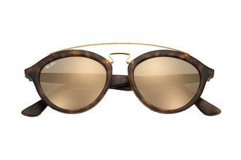 Ray Ban 0RB4257 Gatsby II Sunglasses(Tortoise) - Gold Mirror