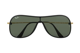 Ray Ban 0RB4311N Sunglasses (Black/Gold) - Green Classic