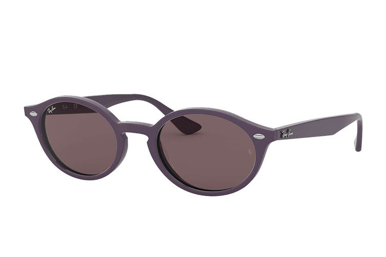 Ray Ban 0RB4315F Sunglasses (Violet) - Purple/Brown Gradient Mirror