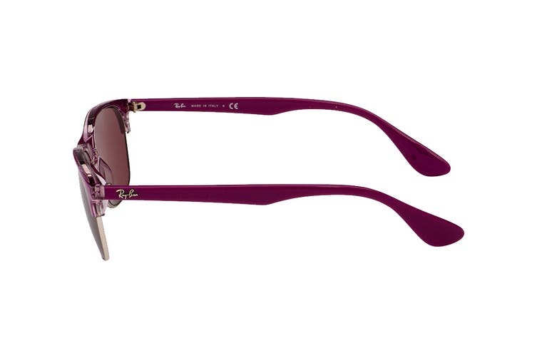 Ray Ban 0RB4319 Sunglasses (Pink) - Dark Violet Classic