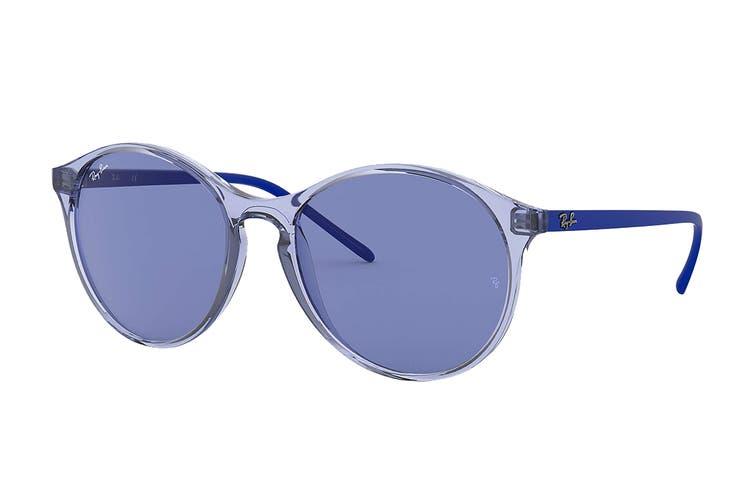 Ray Ban 0RB4371F Sunglasses (Light Blue) - Light Blue Classic